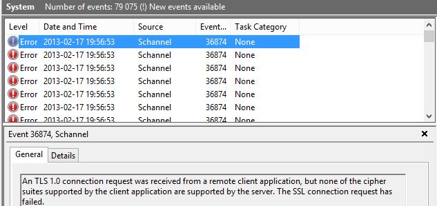 SCM 3 0 Windows 8 Baseline breaks Direct Access IPHTTPS