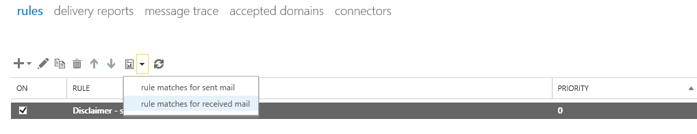 Mail flow rules for alias email addresses in Exchange Online